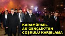 Başkanlara Karamürsel'de Coşkulu Karşılama