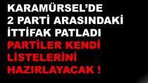 Karamürsel'de CHP İYİ Parti İttifakı Patladı