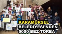 Karamürsel Belediyesi 5 Bin Bez Torba Dağıttı