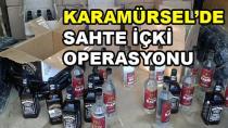 Karamürsel'de Sahte İçki Operasyonu