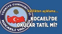Kocaeli de Okullar Tatil mi ?