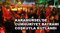 Karamürsel'de Cumhuriyet Bayramı Coşkuyla Kutlandı