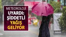 Kocaeli'ye Fırtına ve Yağış Uyarısı