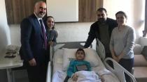 Başkan Yıldırım Sünnet Olan Çocukları Ziyaret Etti