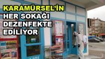 Karamürsel'de Sokaklar Dezenfekte Ediliyor