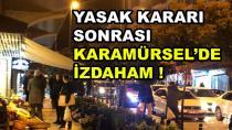 Karamürsel'de Halk Marketlere Akın Etti
