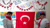 Çocuklar 23 Nisan'ı Evlerinde Kutladı