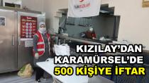 Kızılay'dan Karamürsel'de 500 kişiye iftar