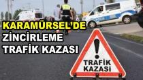 Karamürsel'de Zincirleme Trafik Kazası