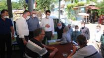 Başkanlar Karamürsel'in Köylerini Gezdi