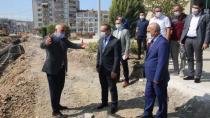 Vali Yavuz Karamürsel'i Ziyaret Etti