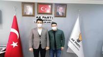 Aktaş'tan İlçe Başkanı Mete'ye Ziyaret