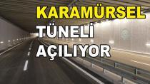 Karamürsel Tüneli Bitti Geçişler Başlıyor