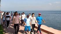 Başkanlar Sabah Sporu Yaptı